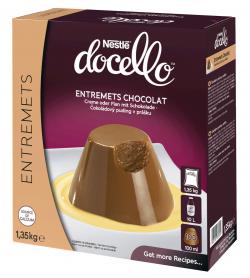Entremets au chocolat