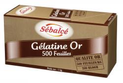 Gélatine or