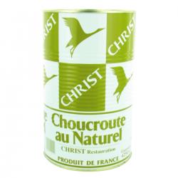Choucroute au naturel