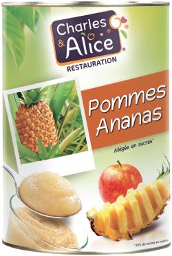 Spécialité pommes-ananas