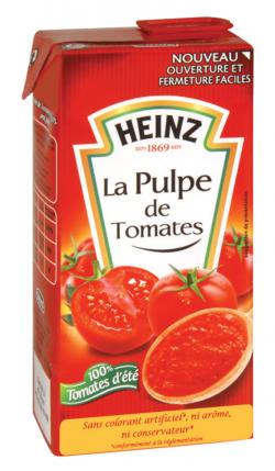 Pulpe fine de tomates