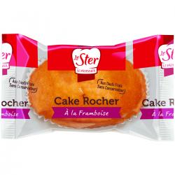 Cake rocher fourré framboise