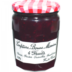 Confiture 4 fruits