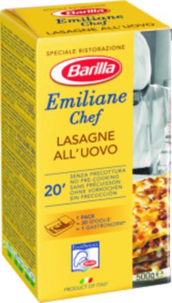 Lasagne aux œufs