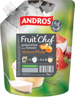 FRUIT'CHEF abricot/pêche