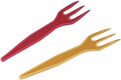 Piques à frite multicolor