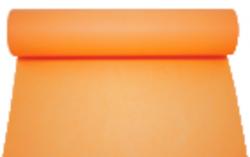 Vis-à-vis en rouleau couleur mandarine