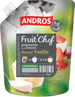 FRUIT'CHEF saveur vanille