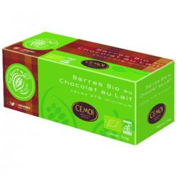 Barre goûter chocolat au lait Bio