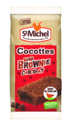 Mini brownie chocolat