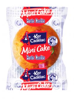 Mini cake aux fruits confits