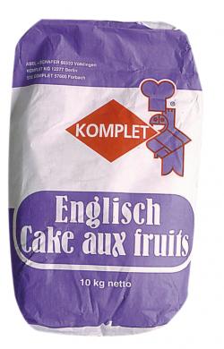 Préparation pour cake aux fruits