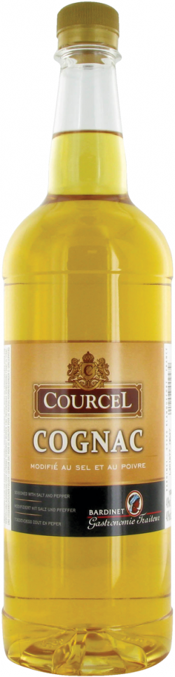 Cognac modifié au sel et au poivre