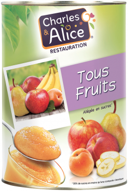 Compote tous fruits