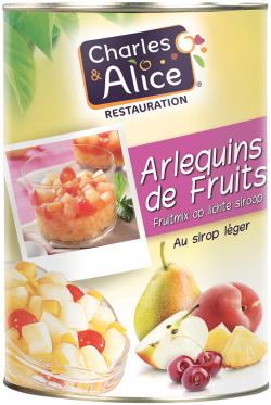 ARLEQUIN de fruits