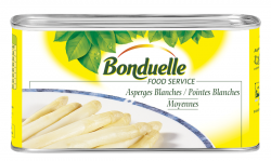 Asperges blanches moyennes