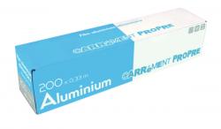 Aluminium avec boîte distributrice
