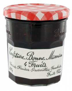 Confiture 4 fruits rouges