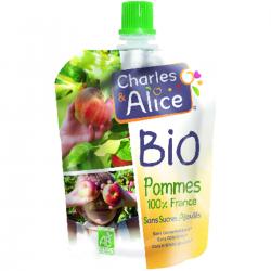 Purée de pomme BIO - 100 % France