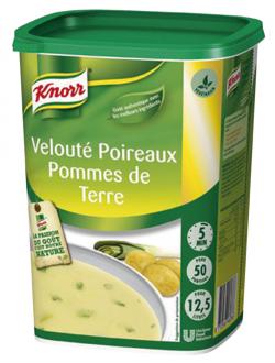 Velouté poireaux-pommes de terre