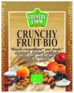 Crunchy fruit BIO