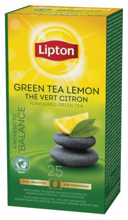 Thé vert citron