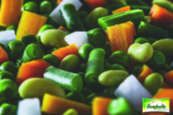 Macédoine de légumes sous vide