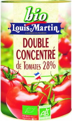 Concentré de tomates 28% BIO