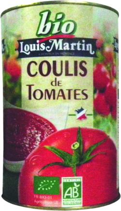 Coulis de tomates 11% BIO
