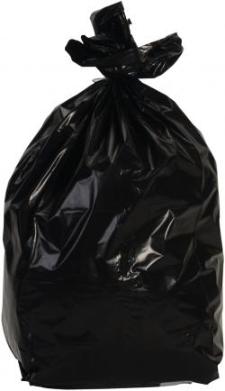Sacs à déchets 110 L polyéthylène couleur noir
