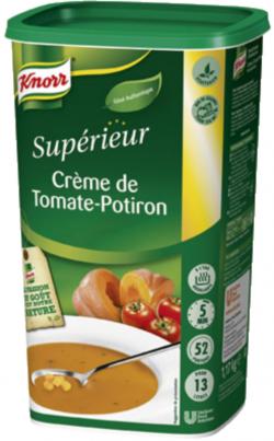 Crème de tomate et potiron