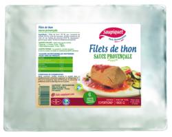 Filet de thon chaud sauce provençale