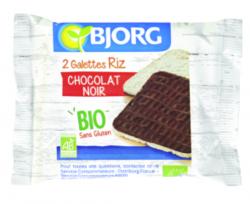 Galettes de riz au chocolat noir BIO