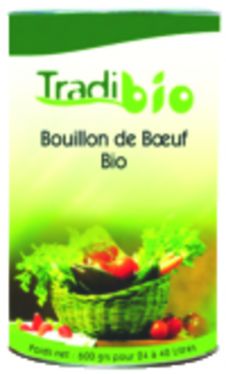 Bouillon de bœuf BIO