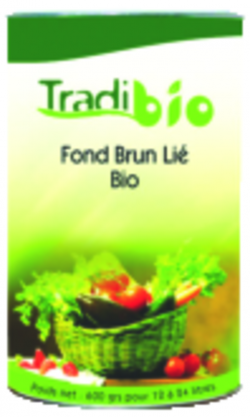 Fond brun lié BIO