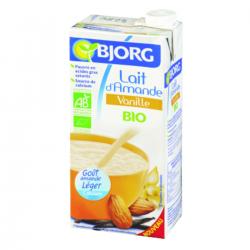 Boisson lait d'amande à la vanille BIO